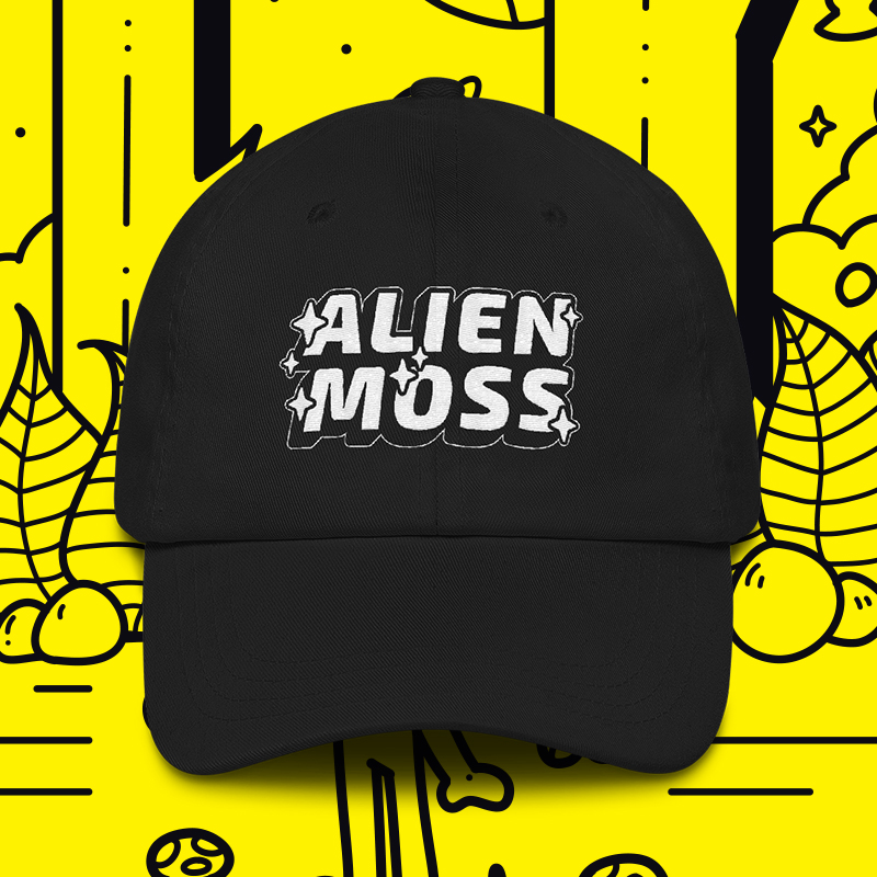 ALIENMOSS Dad hat