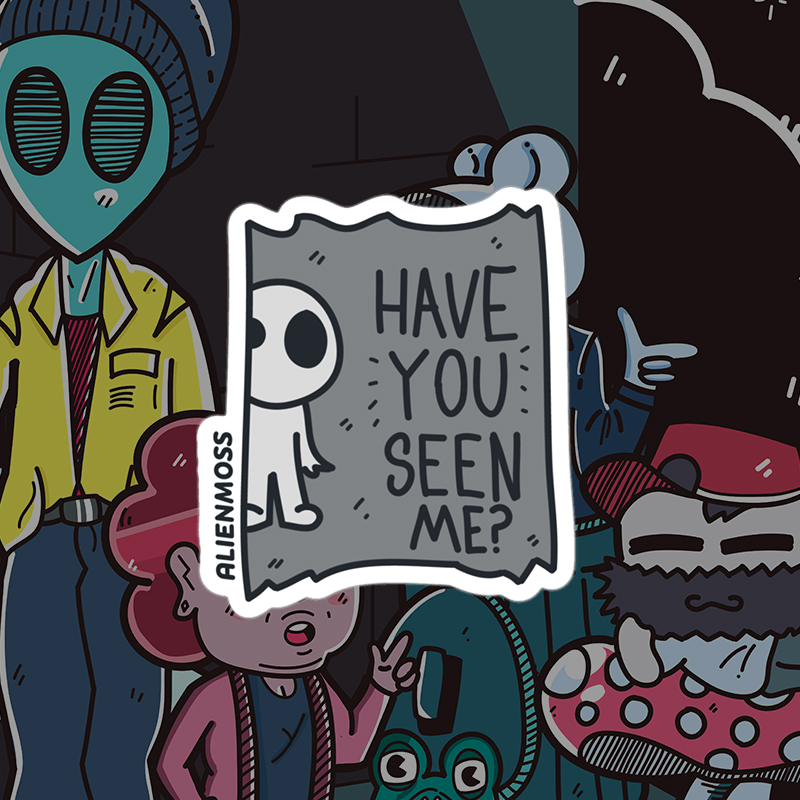 Have You Seen Me? Sticker