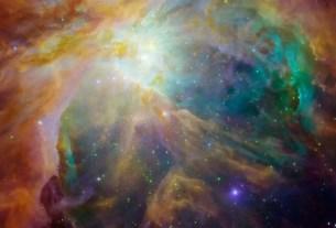 best orion nebula 3D fly through