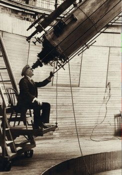 Refractor telescope by Percival lowell