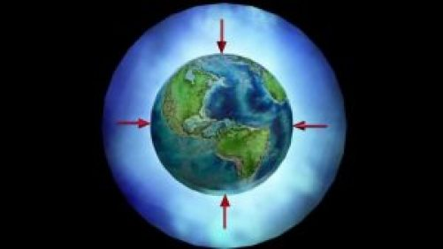 atmospheric pressure on earth