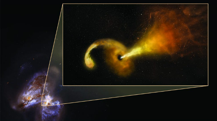Astronomers have Caught Supermassive Blackhole Killing a Star