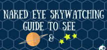 Naked Eye Skywatching Guide for Planets and Stars