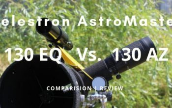 celestron astromaster 130 eq vs 130 az telescope comparision