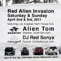 red alien invasion mammoth april 2011