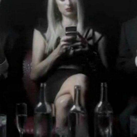 paris hilton drunk text