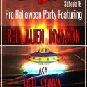 red alien invasion eurobar