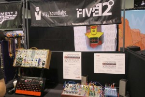 stg soundlabs and Five12 Booth NAMM 2018 Pic