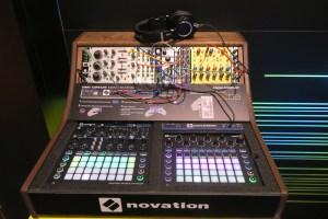 Novation Circuit Display NAMM Show 2018