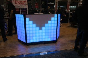 Odyssey Headliner Facade LED DJ Booth NAMM Show 2018