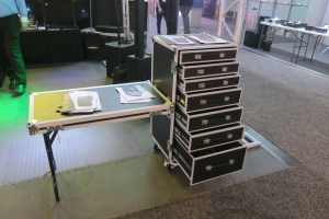 ATA Case Drawers and Table