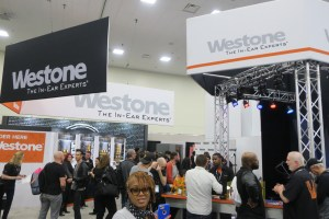 Westone Booth NAMM 2018
