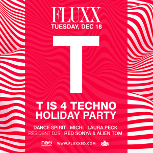 T is 4 Techno holiday lineup