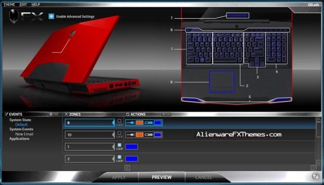 00 M17x Alienware FX Theme
