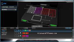 Craziness4th M14x Alienware FX Theme