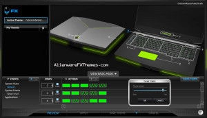 CriticalInfected Pulse M18x Alienware FX Theme
