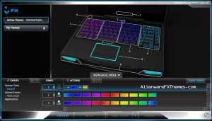 Rainbow Keyboard 3 M14x Alienware FX Theme