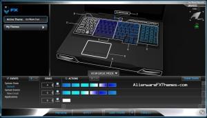 Ice Wave Fast M17x R3 R4 Alienware FX Theme 2