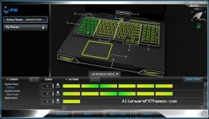 Radioactive Flow M17x R3 R4 Alienware FX Theme 2