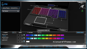 Rainbow All Colours JT M17x R3 R4 Alienware FX Theme 2