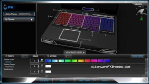 Rainbow All Colours JT M17x R3 R4 Alienware FX Theme 3