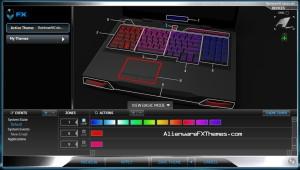Rainbow All Colours  M17x R3 R4 Alienware FX Theme 3