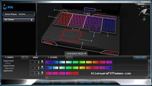 Rainbow M17x R3 R4 Alienware FX Theme 2