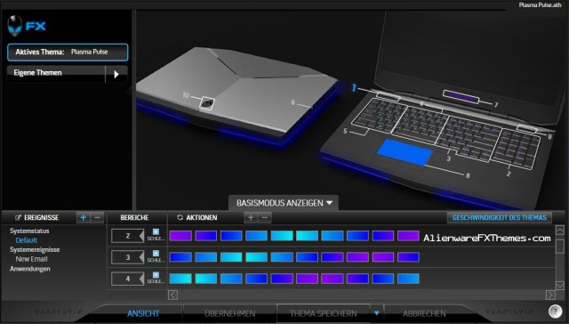 Plasma Pulse Alienware 17 Fx Theme