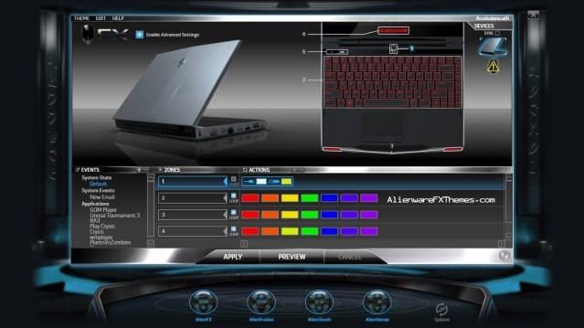 Arcobaleno By vzegm Alienware M11x Fx Theme