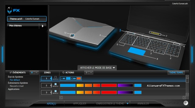 Colorful Sunset by Azazhel Alienware 17 Theme
