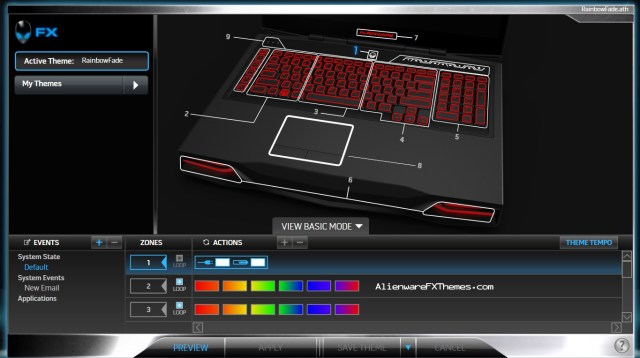 Rainbow Theme By Mastin Alienware M18x Fx Theme