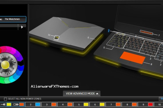 The Watchmen By Ray Alienware 14 Fx Theme