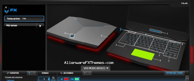 Frio By Arch Alienware 14 Fx Theme