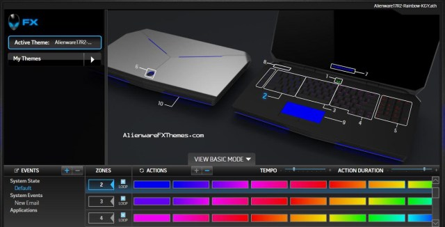 Rainbow By K Smeg Alienware 17 R2 Fx Theme