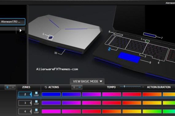 Rainbow By K Smeg Alienware 17 R2 Fx Theme