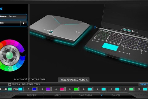Secunda by Noble Alienware 17 Fx Theme