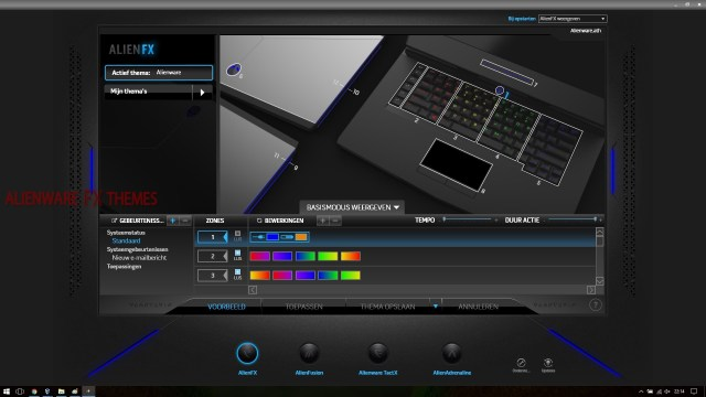 Rainbow By V Alienware 15 R3 Fx Theme