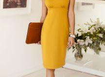 Pippa Shift Day Dress Artisan Gold - Evening Dresses ...