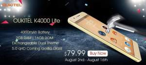 OUKITEL K4000 Lite in stock presale 3