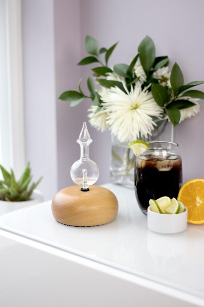Cola diffuser recipe with lime and sweet orange essential oils