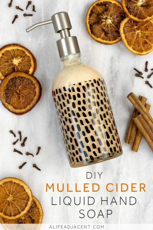 Diy Mulled Cider Liquid Hand Soap Made From Bar Soap A