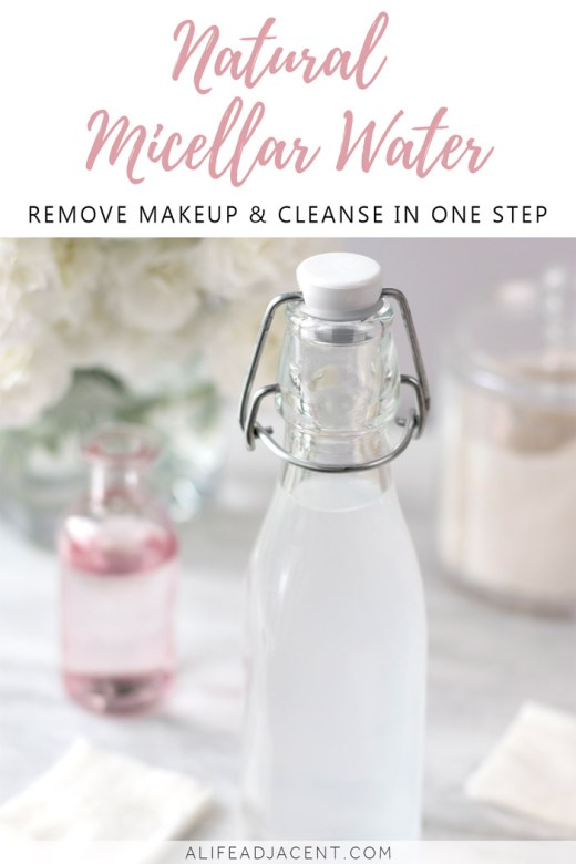 DIY micellar water