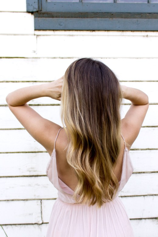 Beautiful healthy hair