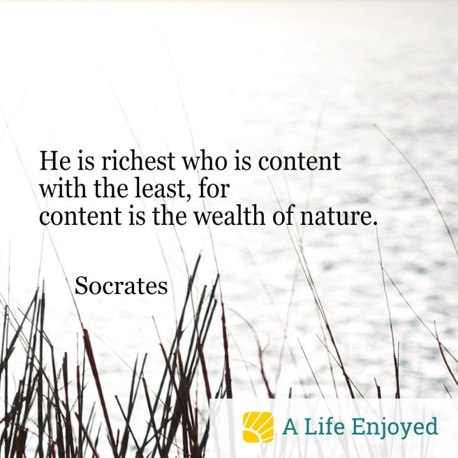 Contentment Quote