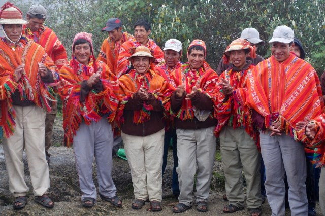 Such gentle and joyous spirits in these men, our porters. It was a honor to share the trail with them.