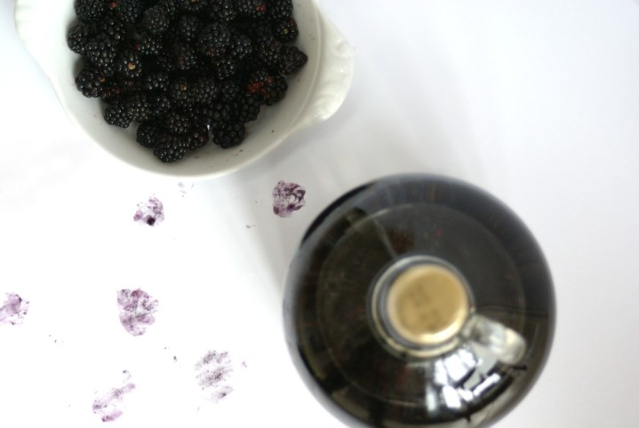 Blackberry infused Gin