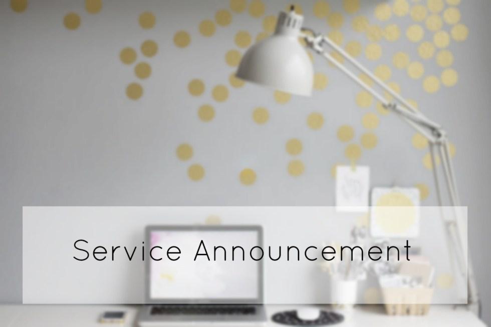 service announcement