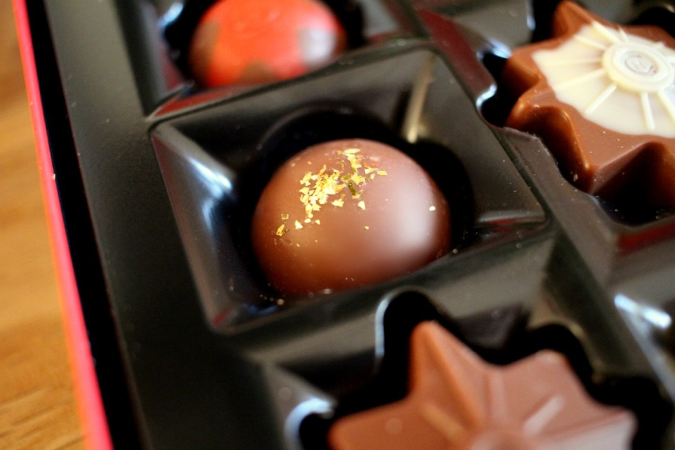 gingerbread truffle