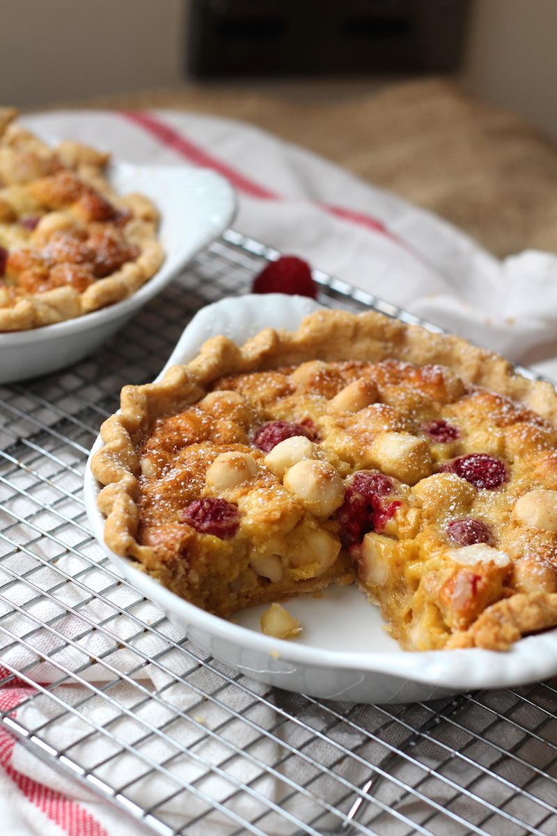 raspberry madadamia recipes
