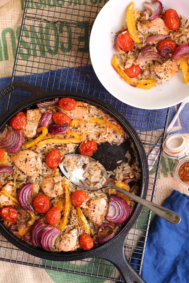 Cajun Chicken One Pot Bake